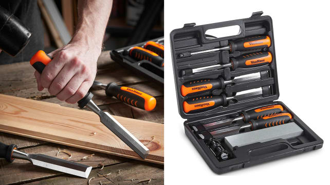 VonHaus Woodcarving Chisel Set