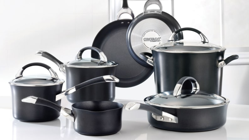 Best cookware sets for induction: Circulon Symmetry Hard-Anodized