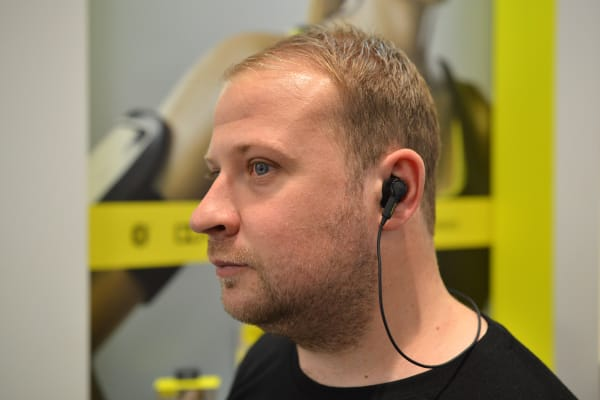 The Jabra Sport Pulse Wireless headphones