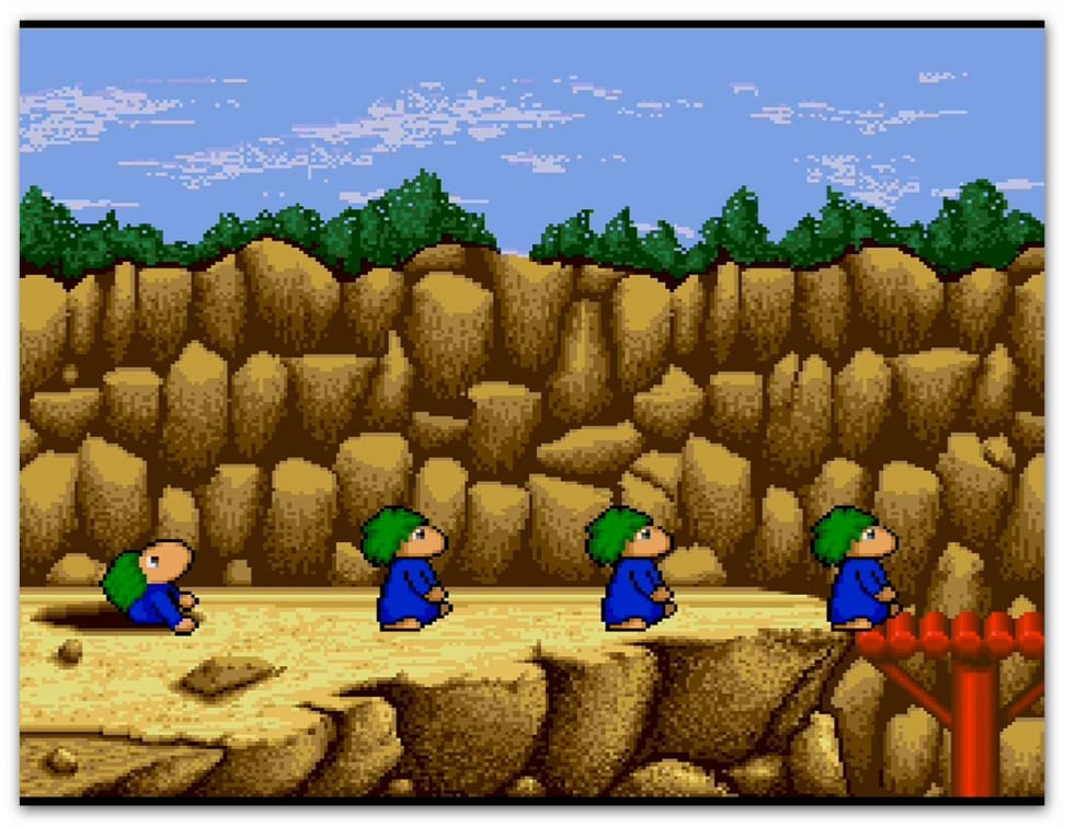 These green-haired lemmings will warm your heart.