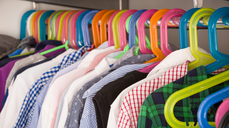 Get a new back-to-school wardrobe as well as school supplies.