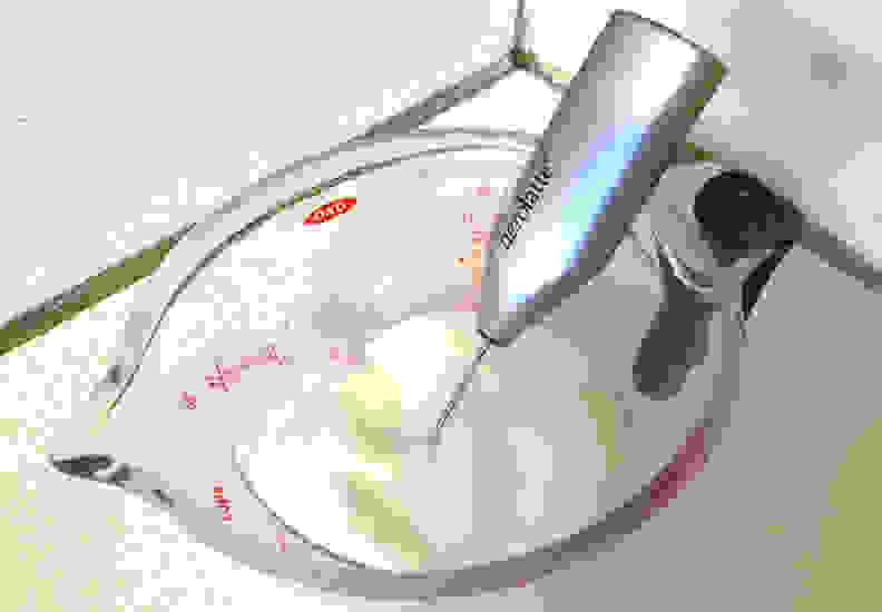 Aerolatte in use