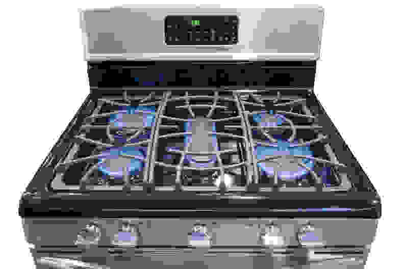 The rangetop impressed us with some excellent water boiling performance.