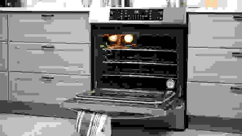Frigidaire-FGIH3047VF Oven Open