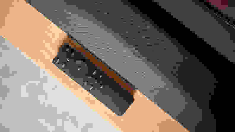 Vizio M-Series soundbar and remote