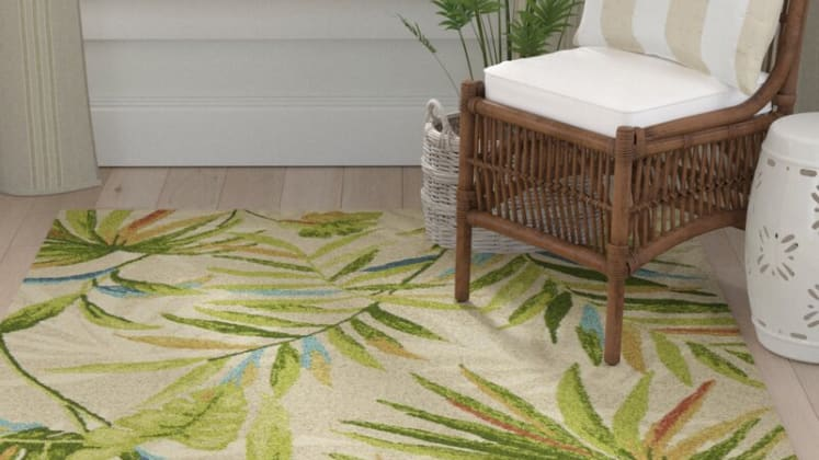 outdoor rugs to upgrade your patio