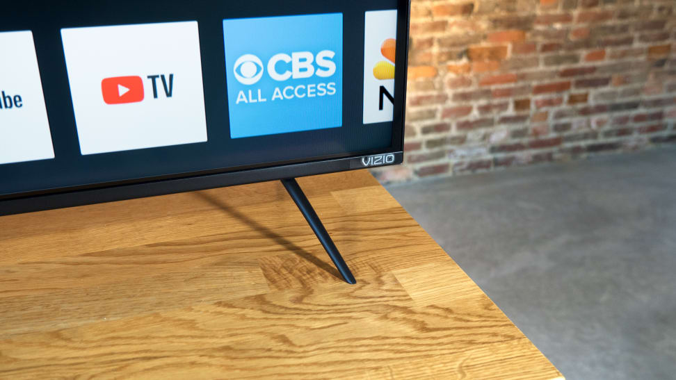 Vizio M Series 2018 Stand Close Up