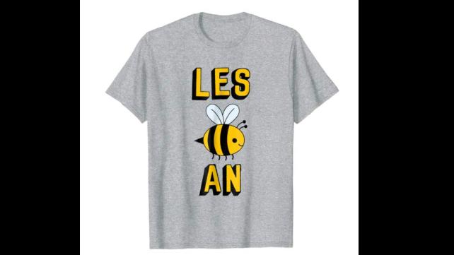 Human Voice Apparel Les Bee An Tshirt