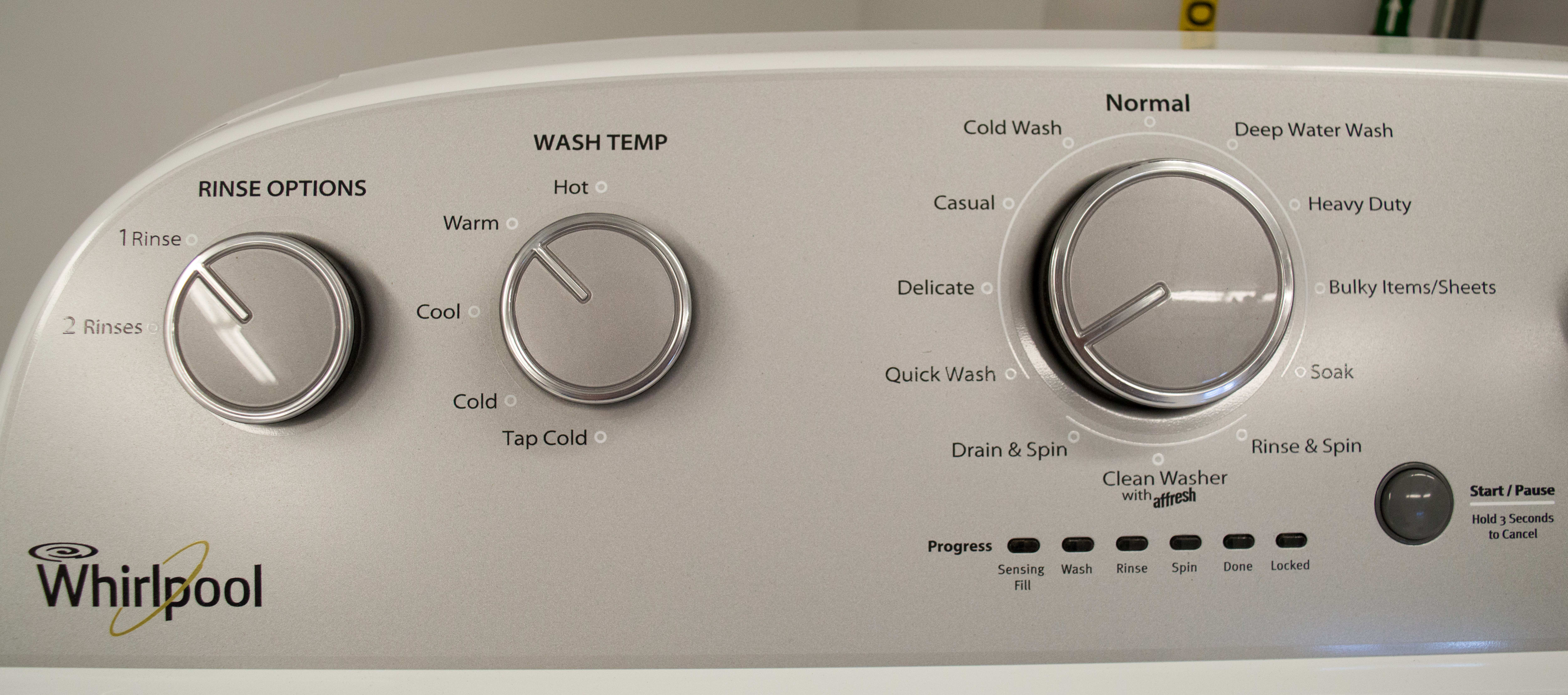 The WTW4915EW lets you micromanage your laundry.