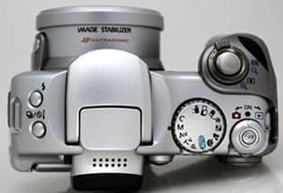 Canon Powershot S1 IS Top