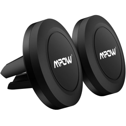 Product Image - Mpow Magnetic Car Phone Air Vent Mount, 2 Pack