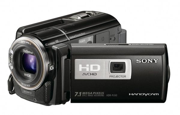 Product Image - Sony Handycam HDR-PJ50V