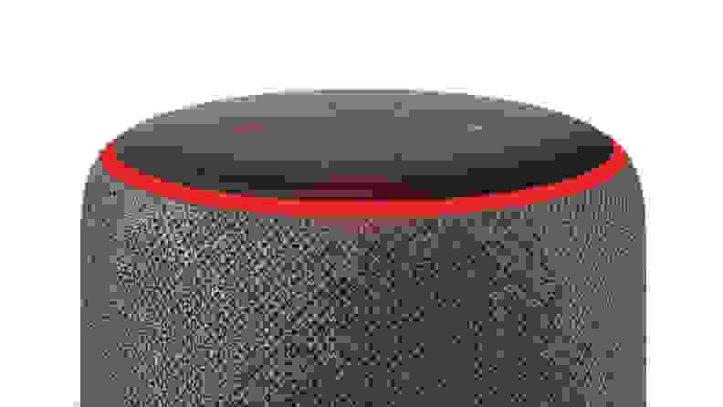Muted Echo smart speaker