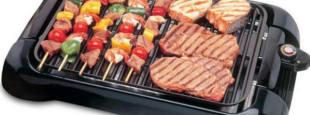 Smart smokeless indoor grill