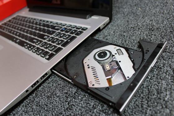 The Vivobook includes a DVD drive.