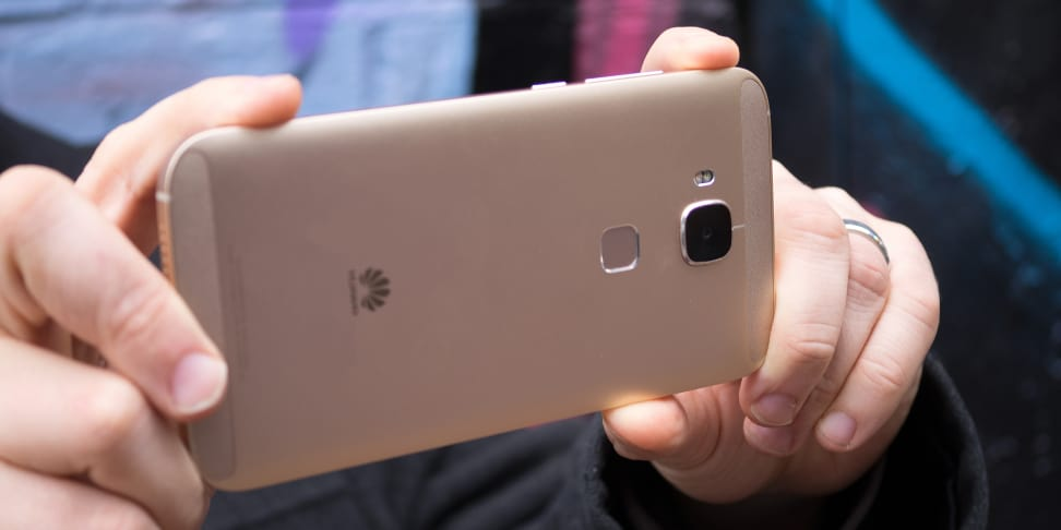 Huawei GX8 Camera In Use