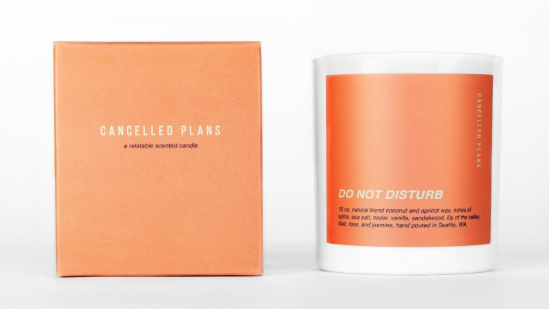 Do Not Disturb candle