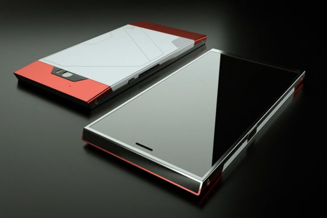 Turing Phone Front and Back