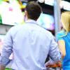 Buying tvs in store