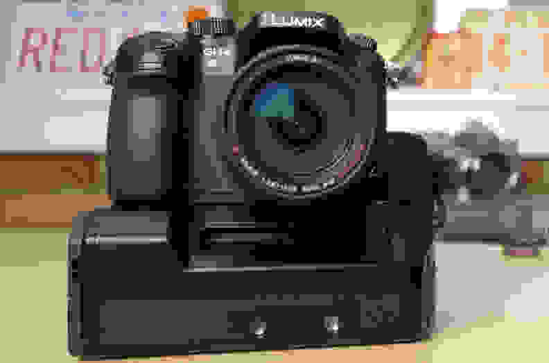 The YAGH adds considerable bulk to the GH4, but it's doesn't increase the footprint that dramatically.