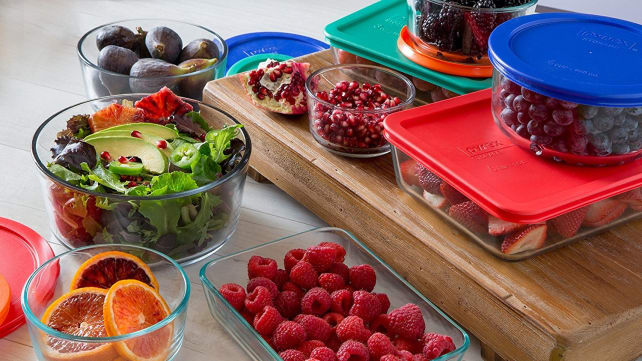 Pyrex 18-Piece Simply Store Food Storage Set
