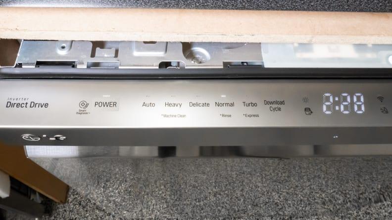 LG LDP6797ST control panel