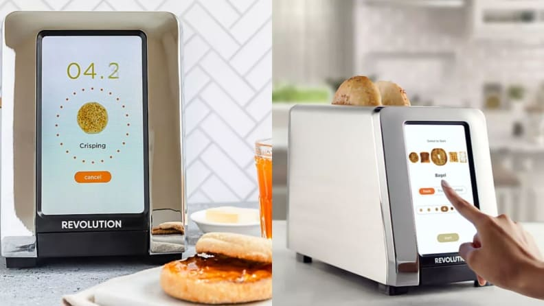 A Revolution InstaGLO Toaster