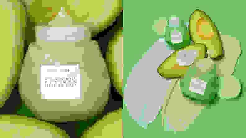 The Glow Recipe Avocado Melt Retinol Face Sleeping Mask.