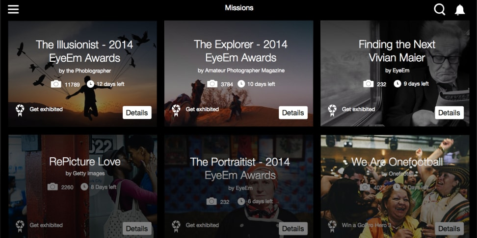 EyeEm is a new social photo sharing community