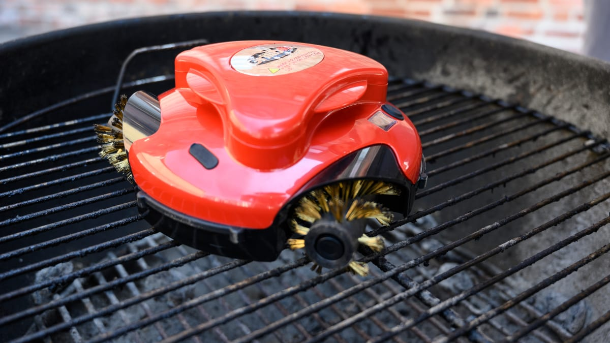 Can this grill-cleaning robot save you stress this summer?