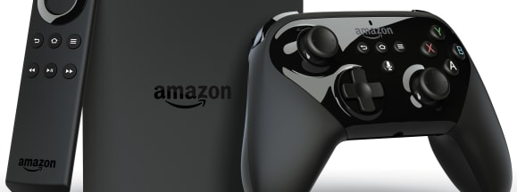 Fire tv with voice remote  and game controller