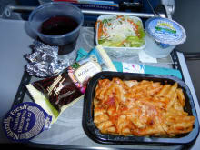 Hawaiian Airlines In-Flight Meal