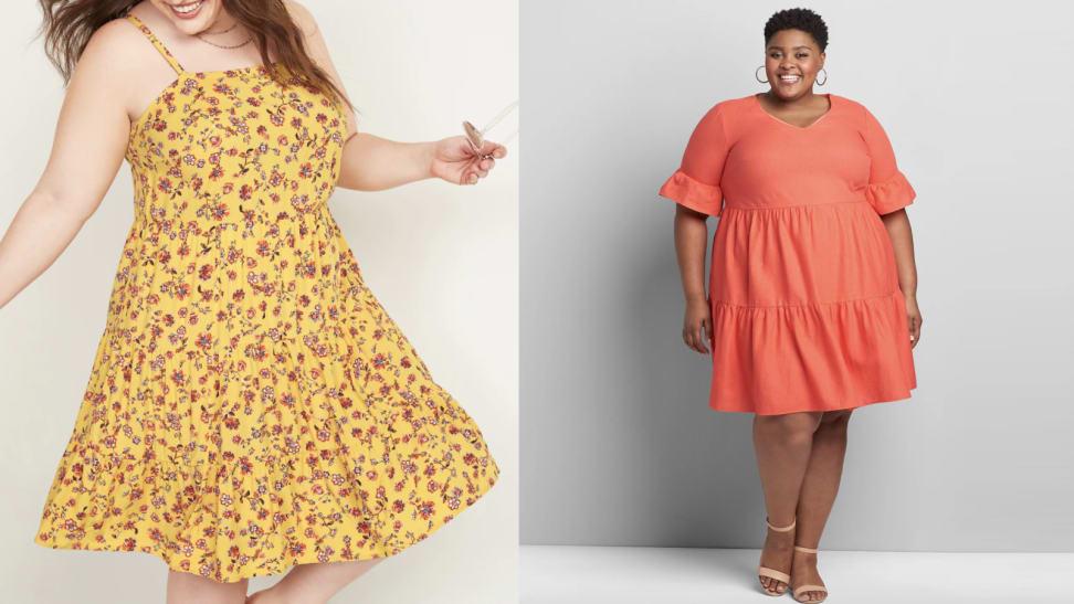 Plus-size spring dresses