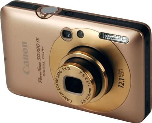 Product Image - Canon  PowerShot SD780 IS