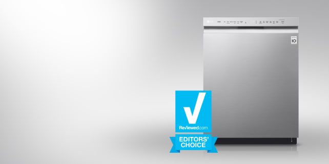 The LG LDF5545ST dishwasher