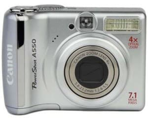 Product Image - Canon PowerShot A550