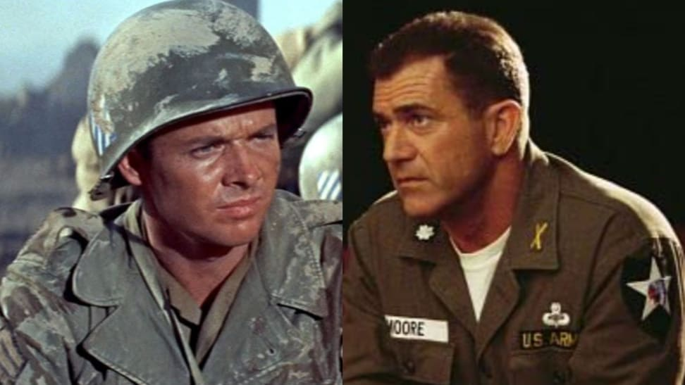 Left: To Hell and Aback; Right: We Were Soldiers