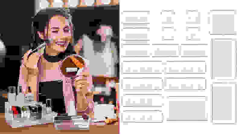 The Kootek 19-Piece Draw Organizer Set.