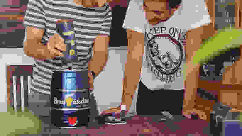 BrewBarrel Brewing Process
