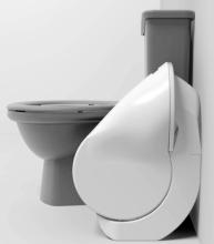 Iota Folding Toilet Size Comparison