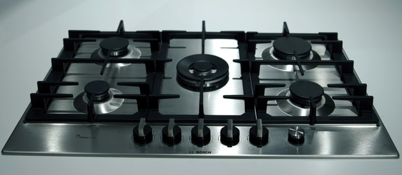 Bosch cooktop with Flame Select