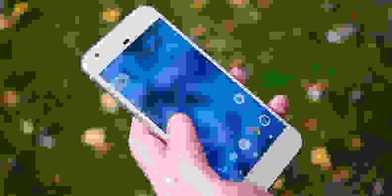 Google Pixel In Use