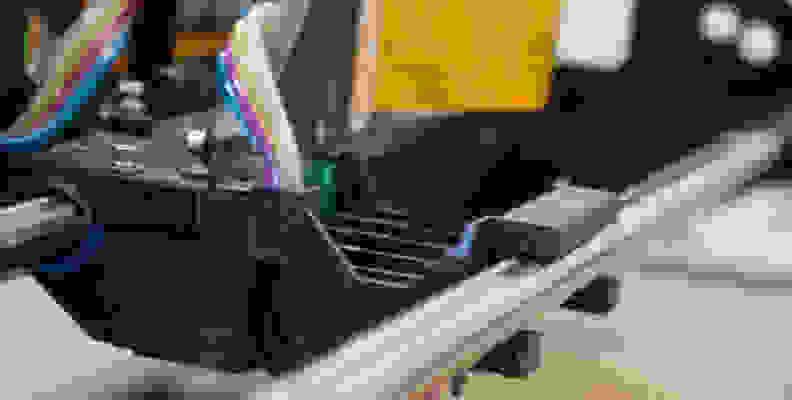 Inkjet print head compartment