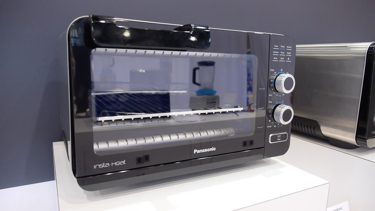 Panasonic Debuts New Insta Heat Toaster Ovens Reviewed