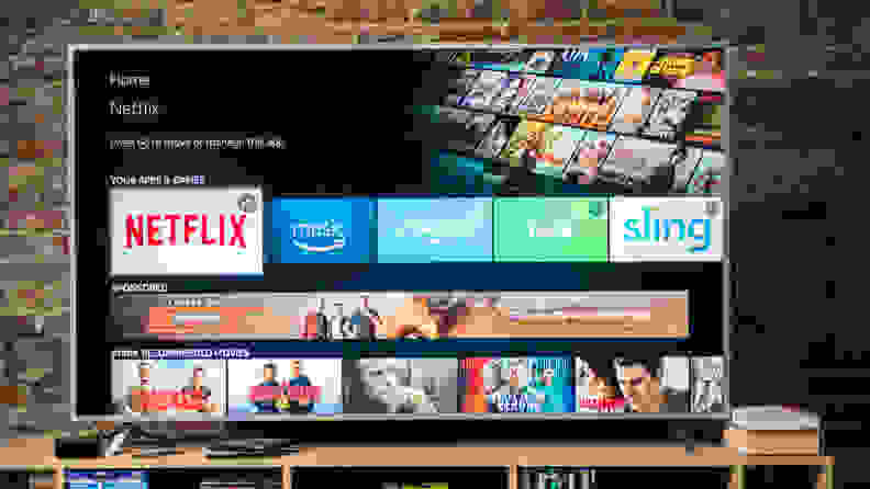 Amazon Fire TV Interface