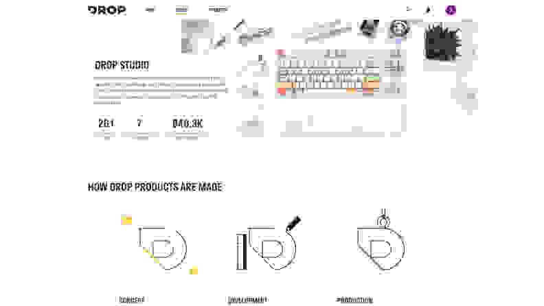 Drop Studio Screenshot