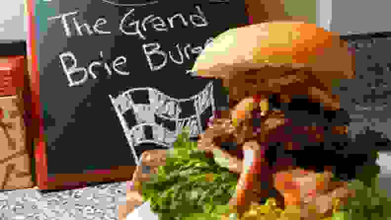 The Grand Brie Burger