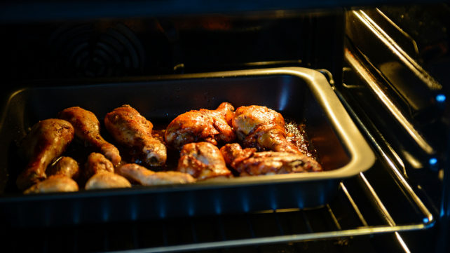 How to preheat your oven - wings