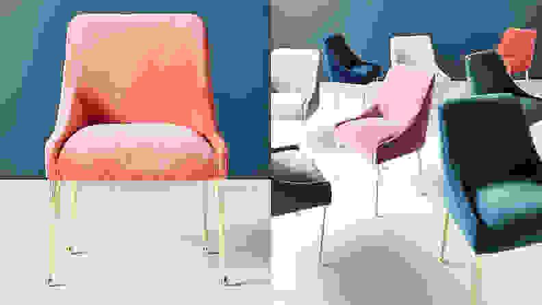 Anthropologie Velvet Elowen Chair
