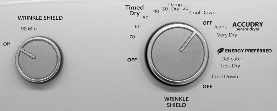 Whirlpool WED4915EW Cycles